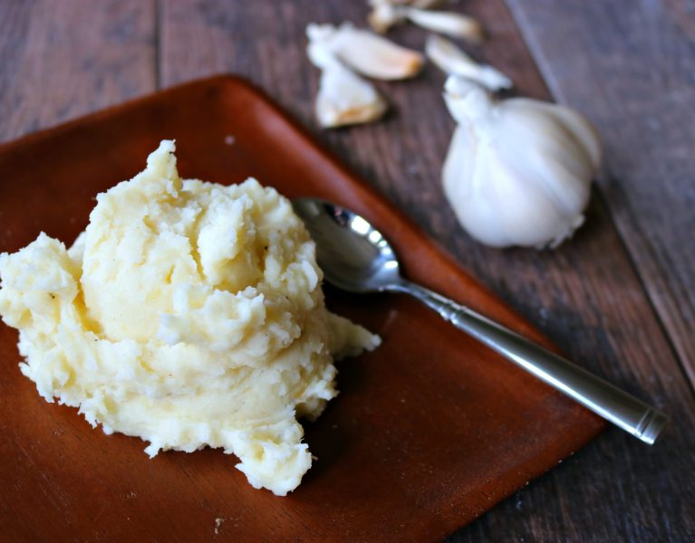 recipe for garlic mashed potatoes
