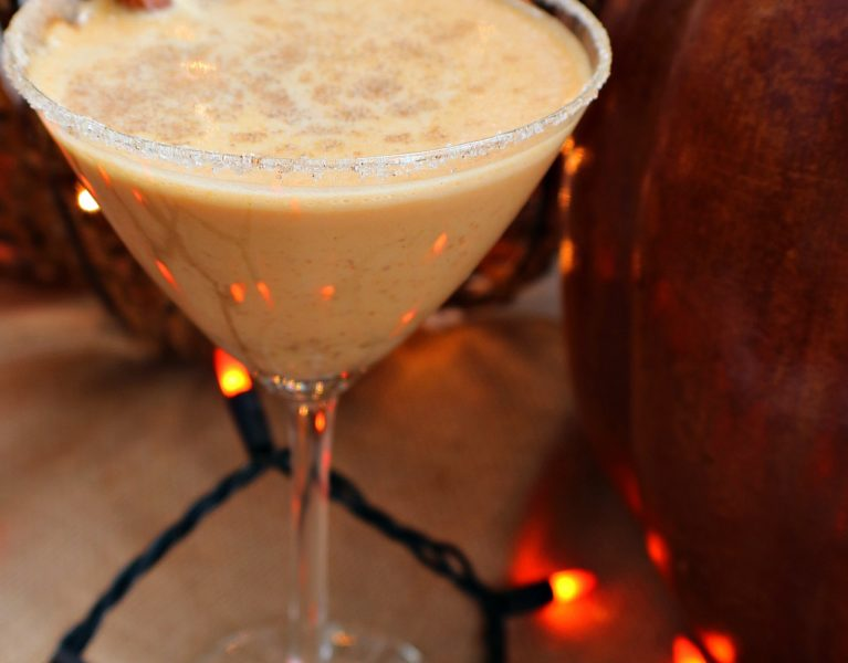 pumpkin spice latte martini
