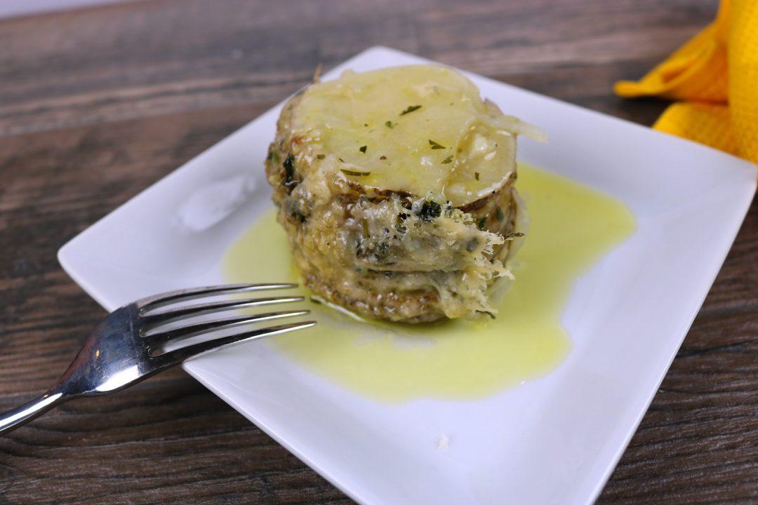 butter garlic potatoes