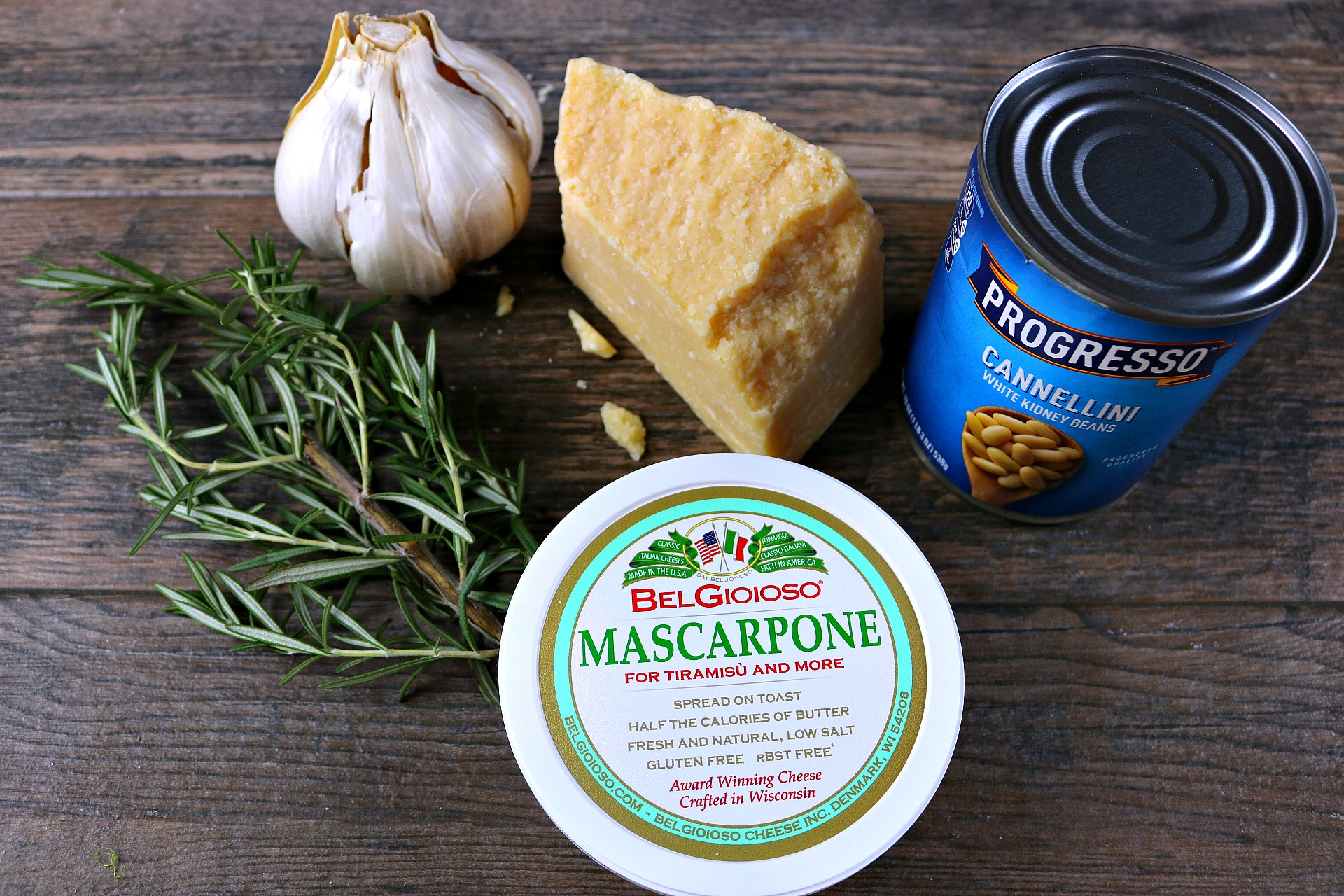 White bean dip with rosemary