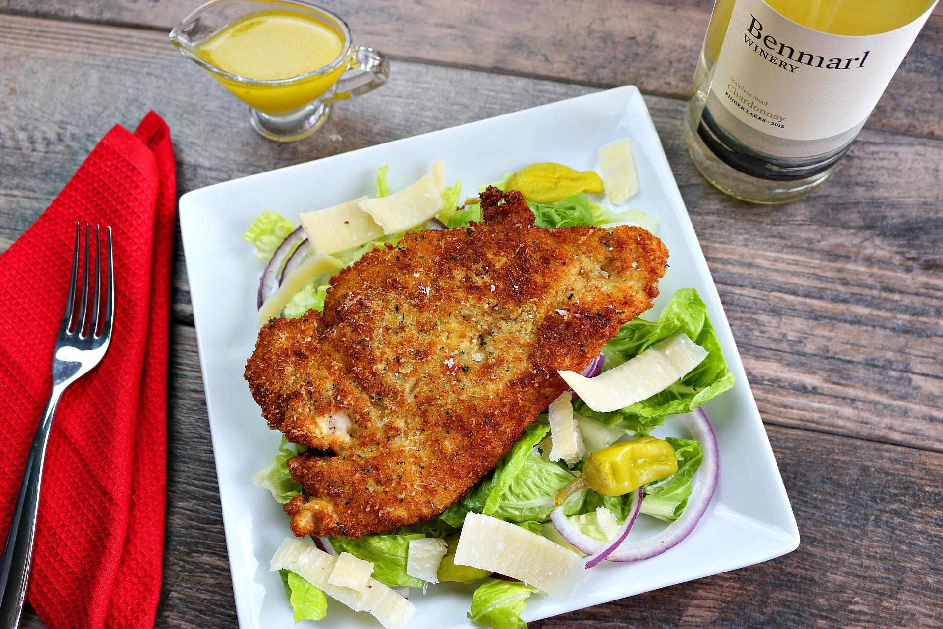 Chicken Milanese (aka, Chicken Cutlets)
