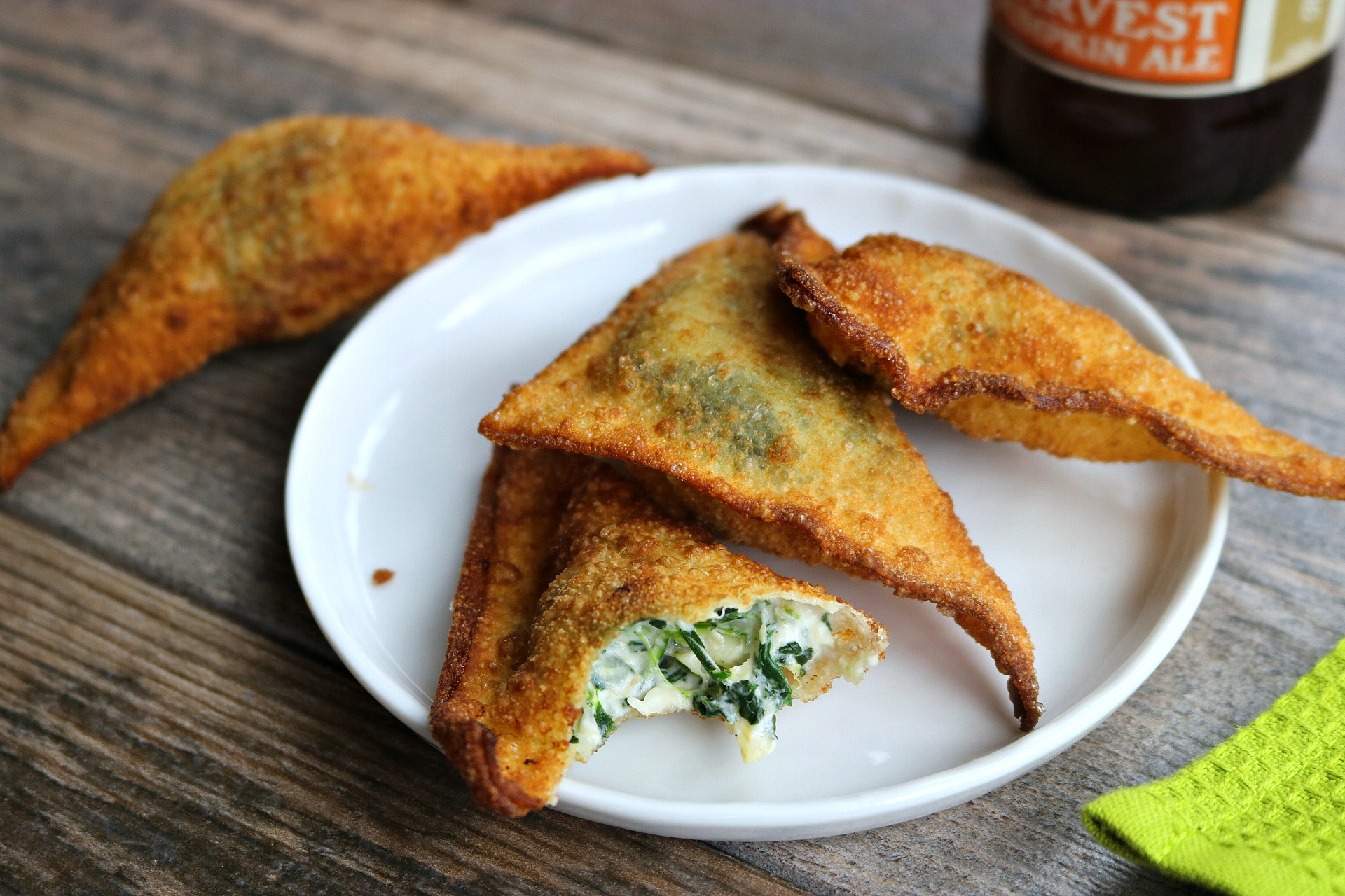 Spinach Artichoke Wontons The Perfect Game Day Snack