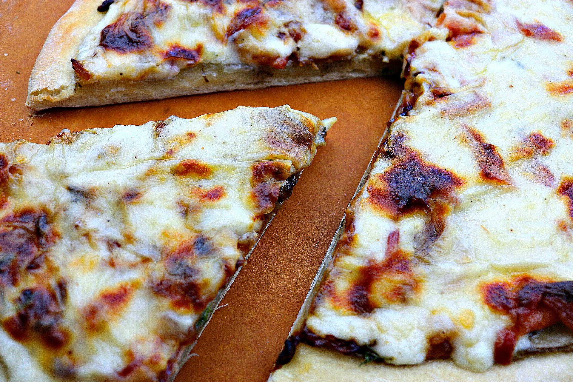 potato au gratin pizza