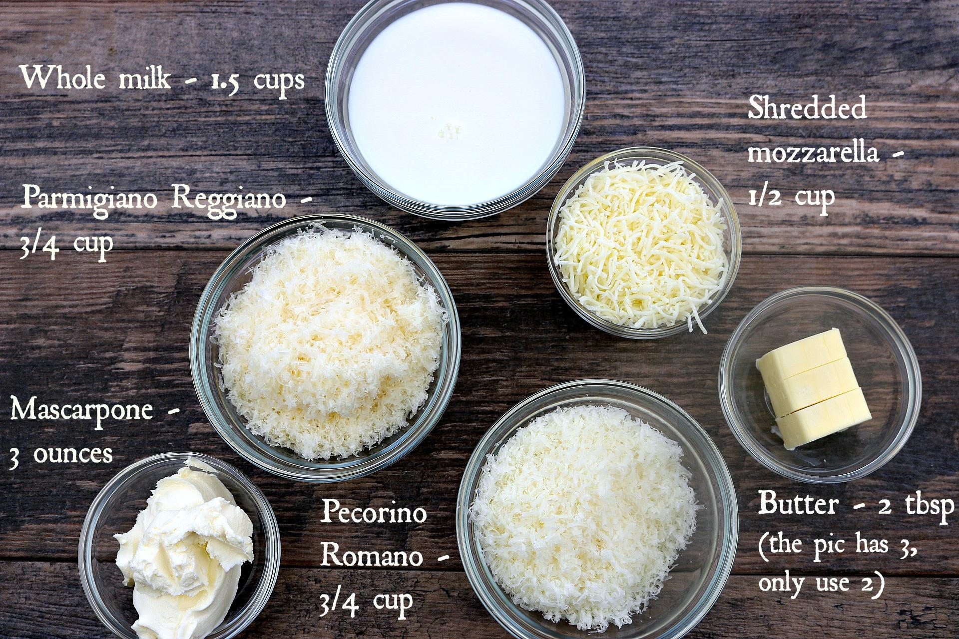 quattro formaggio