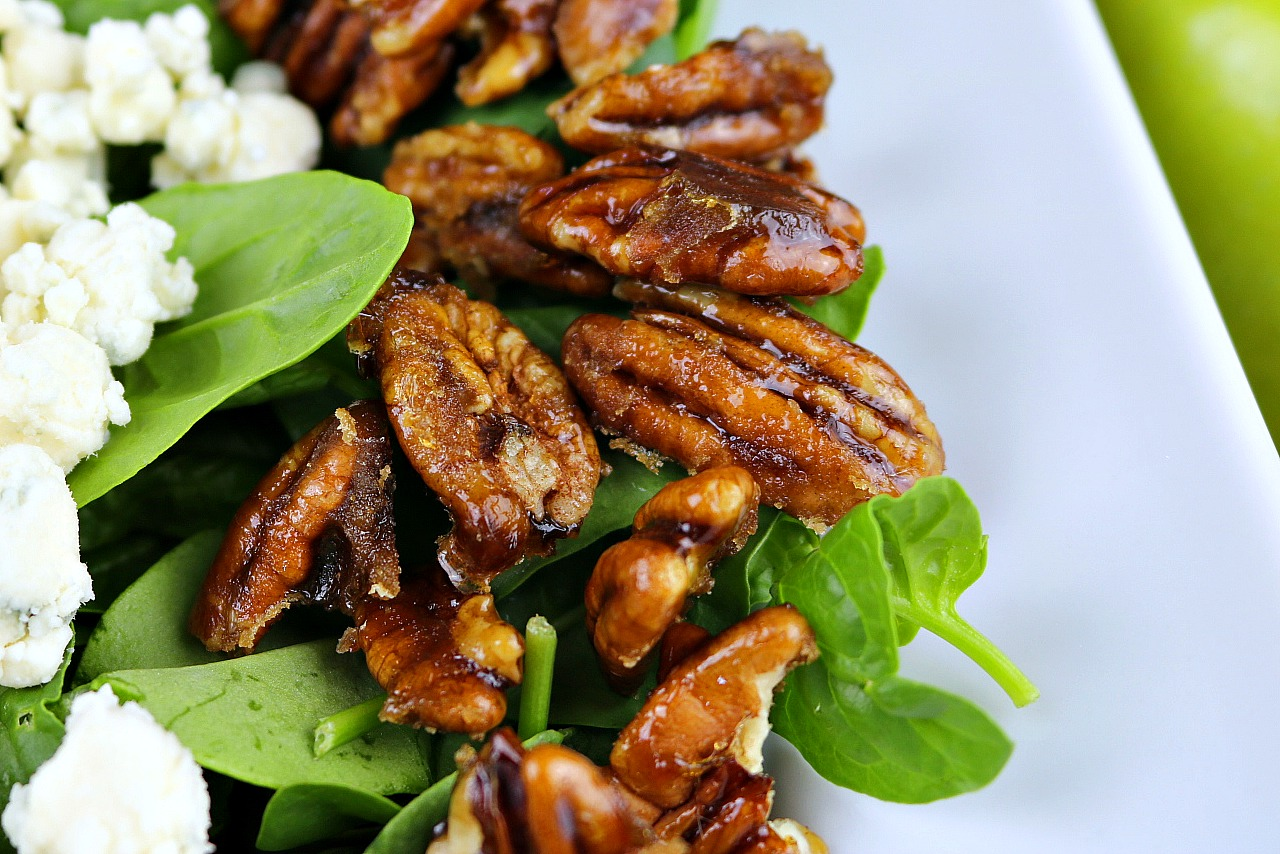 recipe for candied pecans