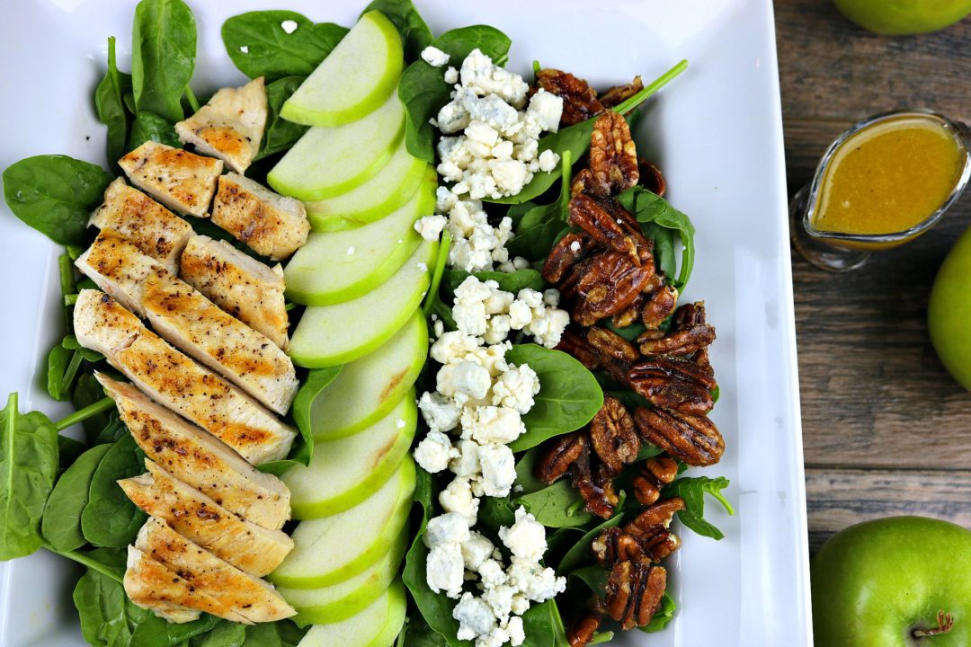apple and chicken salad