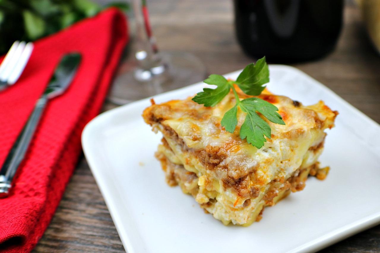 Sunday lasagna
